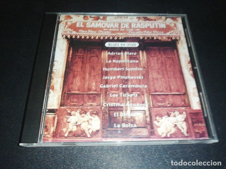EL SAMOVAR DE RASPUTIN, BLUES EN VIVO, ADRIAN OTERO, HUMBERT SUMLIN, ETC. (Música - CD's Jazz, Blues, Soul y Gospel)