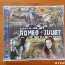 CDs de Música: CD ROMEO + JULIET - MUSIC FROM THE MOTION PICTURE - WILLIAM SHAKESPEARE (5U). Lote 178751618