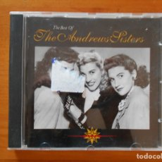 CDs de Música: CD THE BEST OF THE ANDREWS SISTERS (5V). Lote 178752018