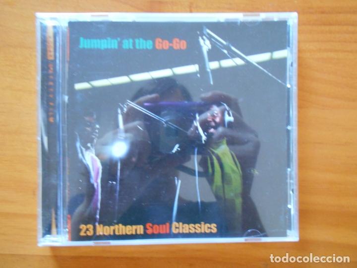 CD JUMPIN' AT THE GO-GO - 23 NORTHERN SOUL CLASSICS (5X) (Música - CD's Jazz, Blues, Soul y Gospel)