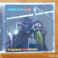 CDs de Música: CD JUMPIN' AT THE GO-GO - 23 NORTHERN SOUL CLASSICS (5X). Lote 178753780