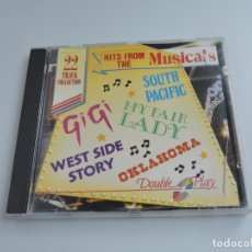 CDs de Música: HITS FROM THE MUSICALS CD. Lote 178755562