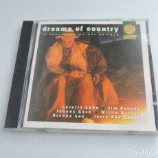 CDs de Música: DREAMS OF COUNTRY CD. Lote 178755726