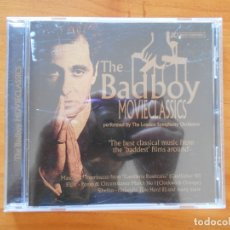 CDs de Música: CD THE BADBOY - MOVIECLASSICS - THE BEST CLASSICAL MUSIC FROM THE BADDEST FILMS AROUND (6A). Lote 178756375