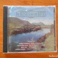 CDs de Música: CD 16 ALL-TIME FAVOURITES - IRISH FAVOURITES (6B). Lote 178758165