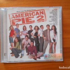 CDs de Música: CD AMERICAN PIE 2 - MUSIC FROM THE MOTION PICTURE - SPECIAL EDITION (6D). Lote 178758632