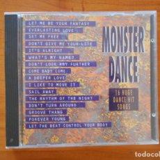 CDs de Música: CD MONSTER DANCE - 16 HUGE DANCE HIT SONGS (6D). Lote 178758743