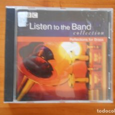CDs de Música: CD THE LISTEN TO THE BAND COLLECTION - REFLECTIONS FOR BRASS (6D). Lote 178759551