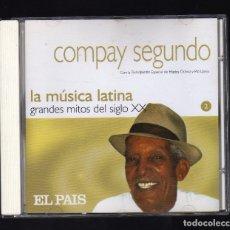 CDs de Música: COMPAY SEGUNDO CON LA PARTICIPACIÓN ESPECIAL DE ELIADES OCHOA Y PÍO LEYVA . Lote 178763322