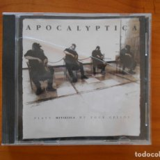 CDs de Música: CD APOCALYPTICA PLAYS METALLICA BY FOUR CELLOS (6G). Lote 178764597