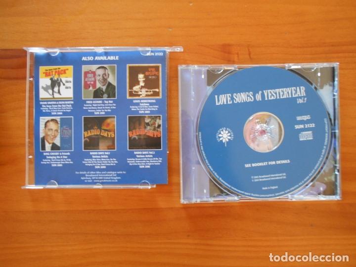CDs de Música: CD LOVE SONGS OF YESTERYEAR VOL. 1 - GLENN MILLER, ELLA FITZGERALD, FRED ASTAIRE, PEGGY LEE... (6I) - Foto 2 - 178766190