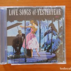 CDs de Música: CD LOVE SONGS OF YESTERYEAR VOL. 1 - GLENN MILLER, ELLA FITZGERALD, FRED ASTAIRE, PEGGY LEE... (6I). Lote 178766190