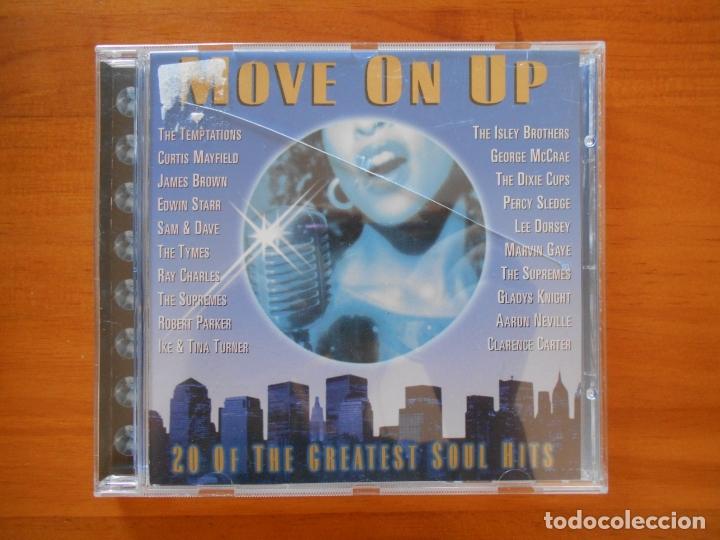 CD 20 SOUL CLASSICS - MOVE ON UP (6I) (Música - CD's Jazz, Blues, Soul y Gospel)