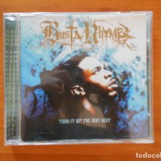 CDs de Música: CD BUSTA RHYMES - TURN IT UP! THE VERY BEST (6I). Lote 178766466