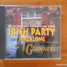 CDs de Música: CD SHANNON SINGERS - IRISH PARTY SINGALONG (6J). Lote 178766927