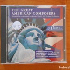 CDs de Música: CD THE GREAT AMERICAN COMPOSERS - GEORGE GERSHWIN, IRVING BERLIN, COLE PORTER... (6M). Lote 178775216