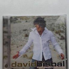 CDs de Música: BISBAL. CORAZON LATINO - CD. Lote 178779418