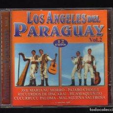 CDs de Música: LOS ÁNGELES DEL PARAGUAY - VOL.2 - (12 ÉXITOS · MEDITERRÁNEO MUSIC LATINO, 2005). Lote 178780377