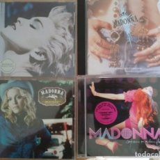 CDs de Música: MADONNA - 4 CDS - LIKE A PRAYER - MUSIC - TRUE BLUE - CONFESSIONS ON A DANCE FLOOR. Lote 178782870