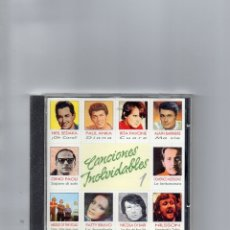 CDs de Música: CD - CANCIONES INOLVIDABLES - 1 - MBE - DESCATALOGADO. Lote 178785652