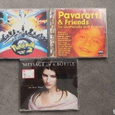 CDs de Música: PACK LAURA PAUSINI RAREZAS - BANDAS SONORAS. Lote 178791686