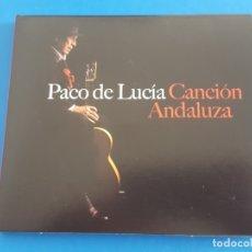 CDs de Música: CD / PACO DE LUCIA / CANCION ANDALUZA 2014 EN DIGIPAK. Lote 178803751