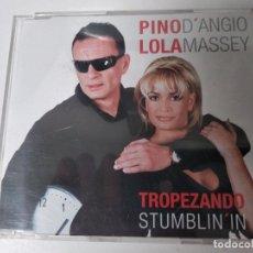 CDs de Musique: PINO D'ANGIO, LOLA MASSEY - TROPEZANDO STUMPBLIN'IN - CD SINGLE 3 TEMAS - NUEVO,PRECINTADO. Lote 56484785