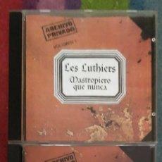 CDs de Música: LES LUTHIERS (MASTROPIERO QUE NUNCA - VOL. 1 Y VOL. 2) 2 CD'S 1996 ARGENTINA. Lote 178815917
