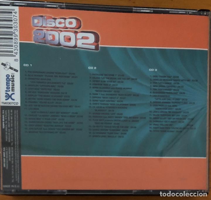 CDs de Música: Cd DISCO 2002 - Foto 2 - 178821395
