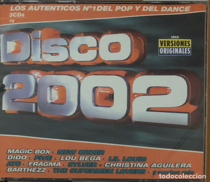 CD DISCO 2002 (Música - CD's Disco y Dance)