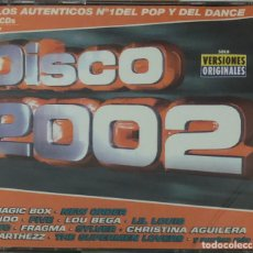 CDs de Música: DISCO 2002 CD HITS DISCO DANCE. Lote 178821395