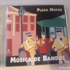 CDs de Música: 2 CD MUSICA DE BANDAS - PLAZA MAYOR. Lote 178837315