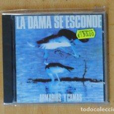 CDs de Música: LA DAMA SE ESCONDE - ARMARIOS Y CAMAS - CD. Lote 178840780