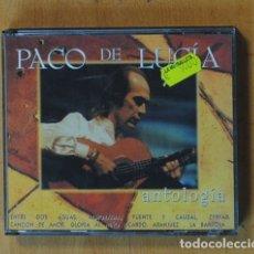 CDs de Música: PACO DE LUCIA - ANTOLOGIA - CD. Lote 178840998