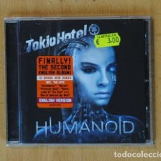 CDs de Música: TOKIO HOTEL - HUMANOID - CD. Lote 178841102