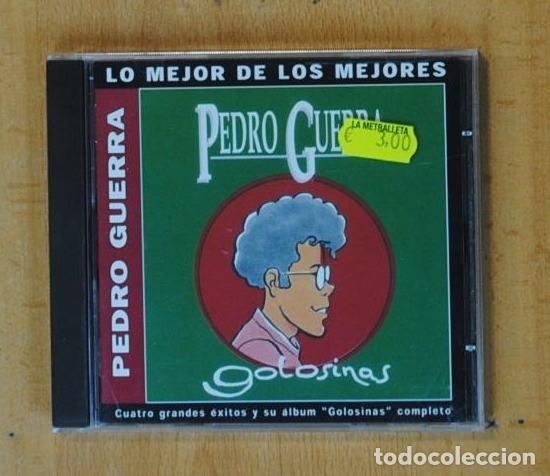 PEDRO GUERRA - GOLOSINAS - CD (Música - CD's Pop)