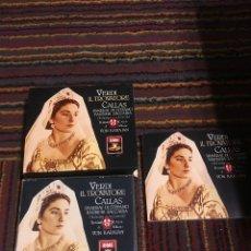 CDs de Música: CD OPERA MARIA CALLAS - VERDI IL TROVATORE 2 CDS - PANERAI · DI STEFANO · VON KARAJAN. Lote 178844668