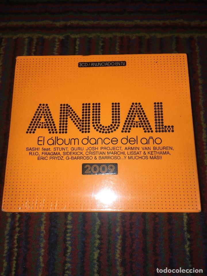 CD ANUAL. EL ALBUM DANCE DEL AÑO, 2009; TRIPLE CD PRECINTADO (Música - CD's Disco y Dance)