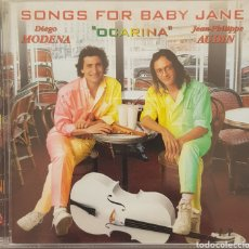 CDs de Música: DIEGO MODENA Y JEANPHILIPPE AUDIN OCARINA SONGS FOR BABY JANE. Lote 178853951