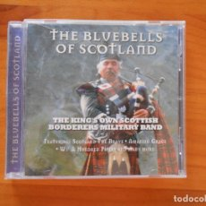 CDs de Música: CD THE KING'S OWN SCOTTISH BORDERERS MILITARY BAND - THE BLUEBELLS OF SCOTLAND (AF). Lote 178857067