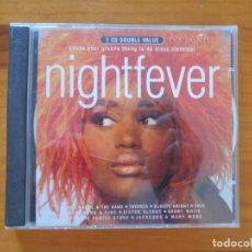 CDs de Música: CD NIGHTFEVER (2 CD'S) - KOOL & THE GANG, TAVARES, GLADYS KNIGHT, CHIC... (AQ). Lote 178858506