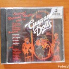 CDs de Música: CD GUYS AND DOLLS - ORIGINAL NATIONAL THEATRE (DO). Lote 178861306