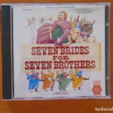 CDs de Música: CD SEVEN BRIDES FOR SEVEN BROTHERS - ORIGINAL LONDON CAST (EB). Lote 178865665