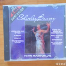 CDs de Música: CD SHIRLEY BASSEY - I'M IN THE MOOD FOR LOVE (DP). Lote 178866233