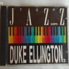 CD di Musica: TOP JAZZ SARPE DUKE ELLINGTON 3 CD 1990. Lote 178869265