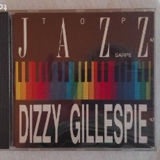 CDs de Música: TOP JAZZ SARPE DIZZY GILLESPIE CD 1990. Lote 178870737
