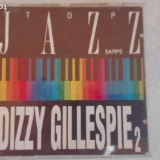 CDs de Música: TOP JAZZ SARPE DIZZY GILLESPIE 2 CD 1990. Lote 178870782