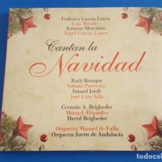 CDs de Música: CD / VARIOS ARTISTAS CANTAN LA NAVIDAD / ORQ. MANUEL DE FALLA Y ORQ. JOVEN DE ANDALUCIA EN DIGIPAK. Lote 178878200