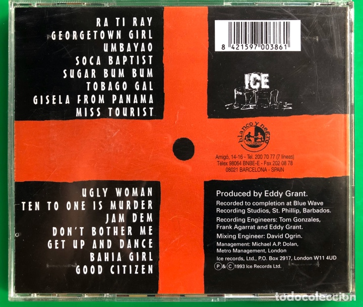 CDs de Música: Cd EDDY GRANT - Foto 2 - 178888193