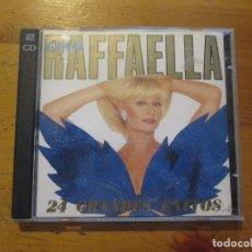 CDs de Música: RAFFAELLA CARRA CIAO 24 GRANDES ÉXITOS 2 CDS SONY EPIC 1993. Lote 178905682